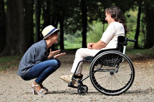Người khuyết tật cần nhiều sự hỗ trợ và động viên của mọi người