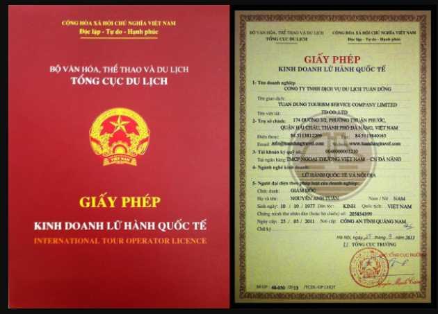Thủ tục cấp giấy phép lữ hành quốc tế
