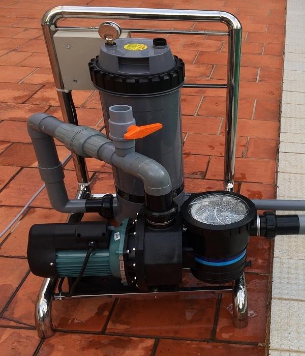 Bộ lọc nước bị bẩn