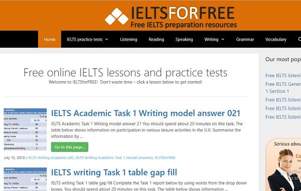Ielts For Free học tập hiệu quả, kiểm tra trình độ
