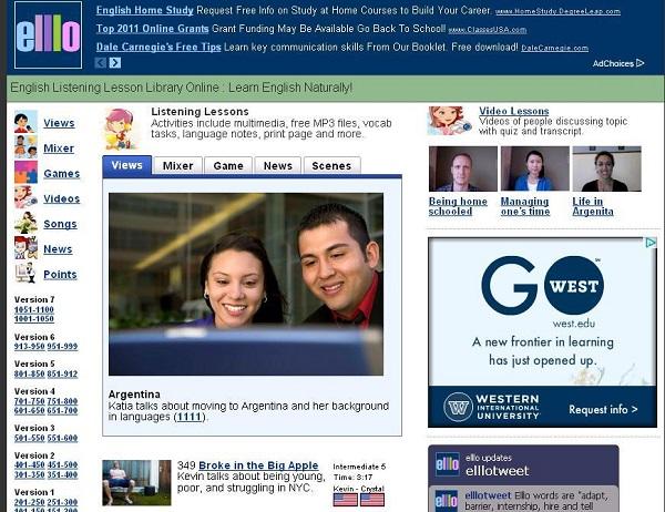 Trang web giúp nâng cao trình độ tiếng Anh để thi Ielts
