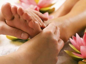 Massage bàn chân có tác dụng trị 1 số bệnh